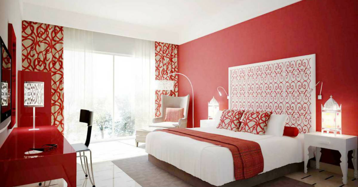10 Inspiring Ways To Use The Colour Red In Your Bedroom Design