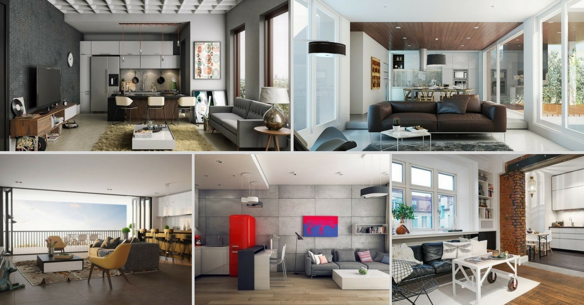 10 Open Concept Living Room For Your Small Apartment