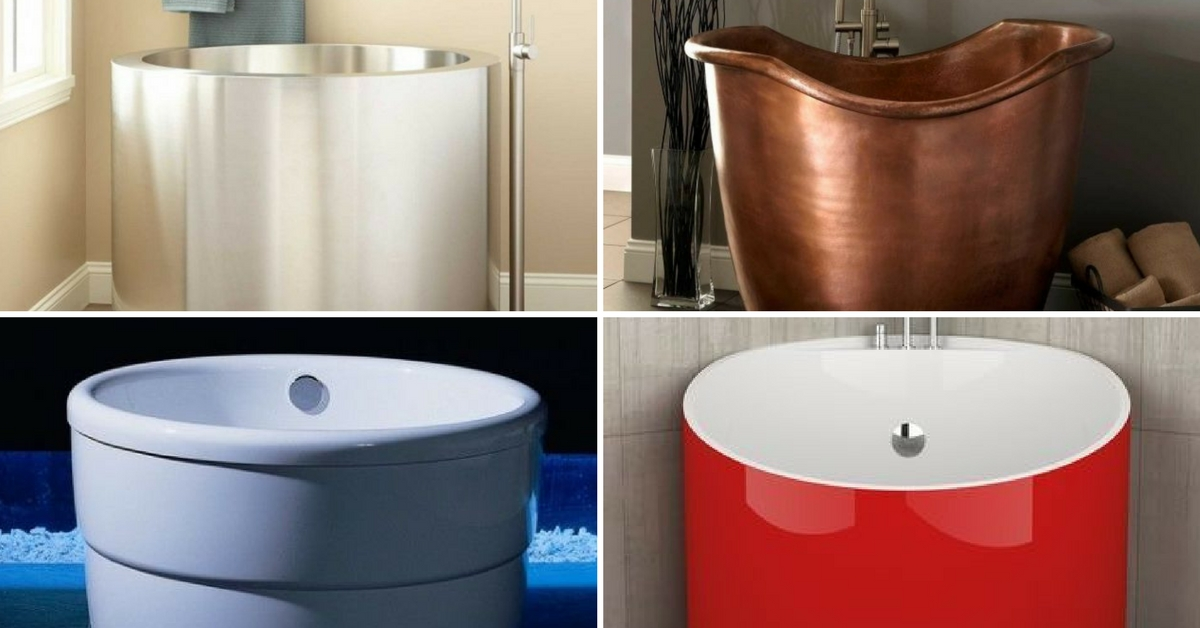 9 small bathtubs design to fit your small bathroom for Bathroom design and fit