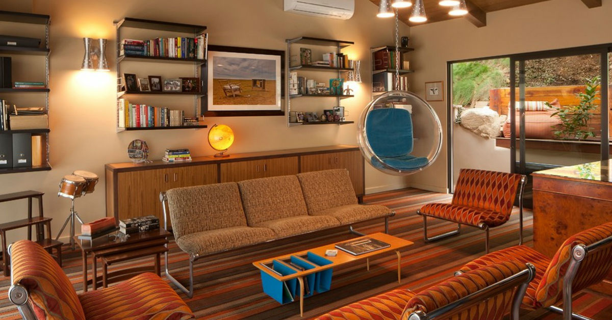 11 Impressive Retro Living Room Ideas Which You Will Adore ...