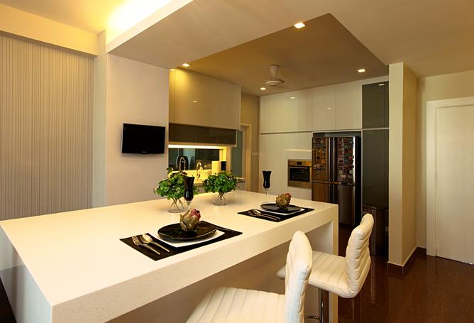 Harmonious Contrast Of Minimalist And Natural Prima Heights Condominium Malaysia