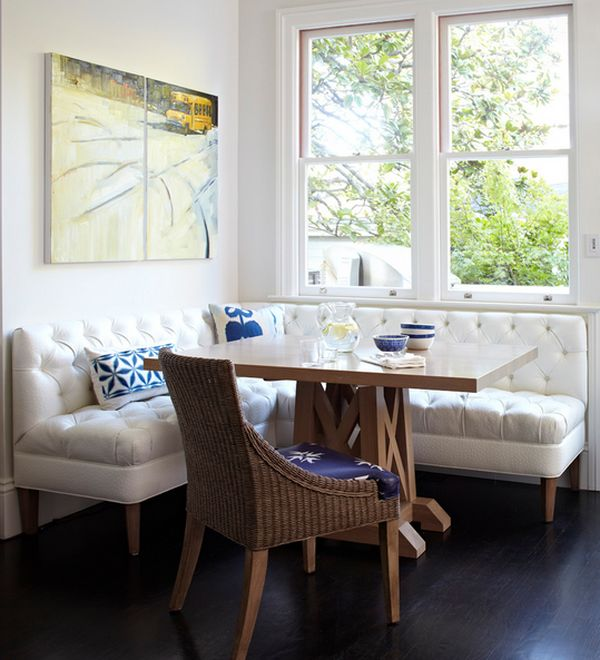 11 Absolutely Stunning Corner Dining Table For Your Home ...