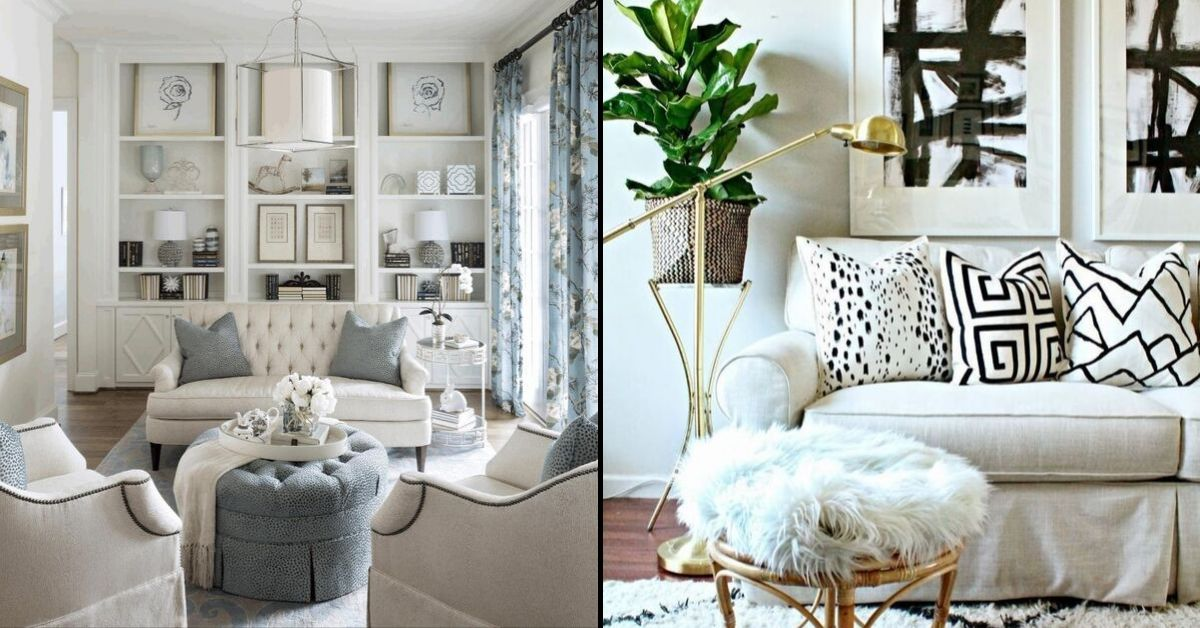 5 White Sofa Ideas For A Modern And Fashionable Living Room