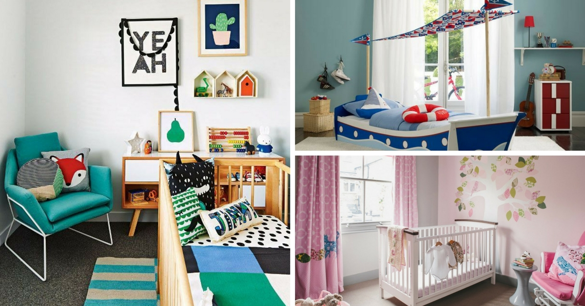 7 amazing ways to decorate your kids bedroom for Ways to design your bedroom
