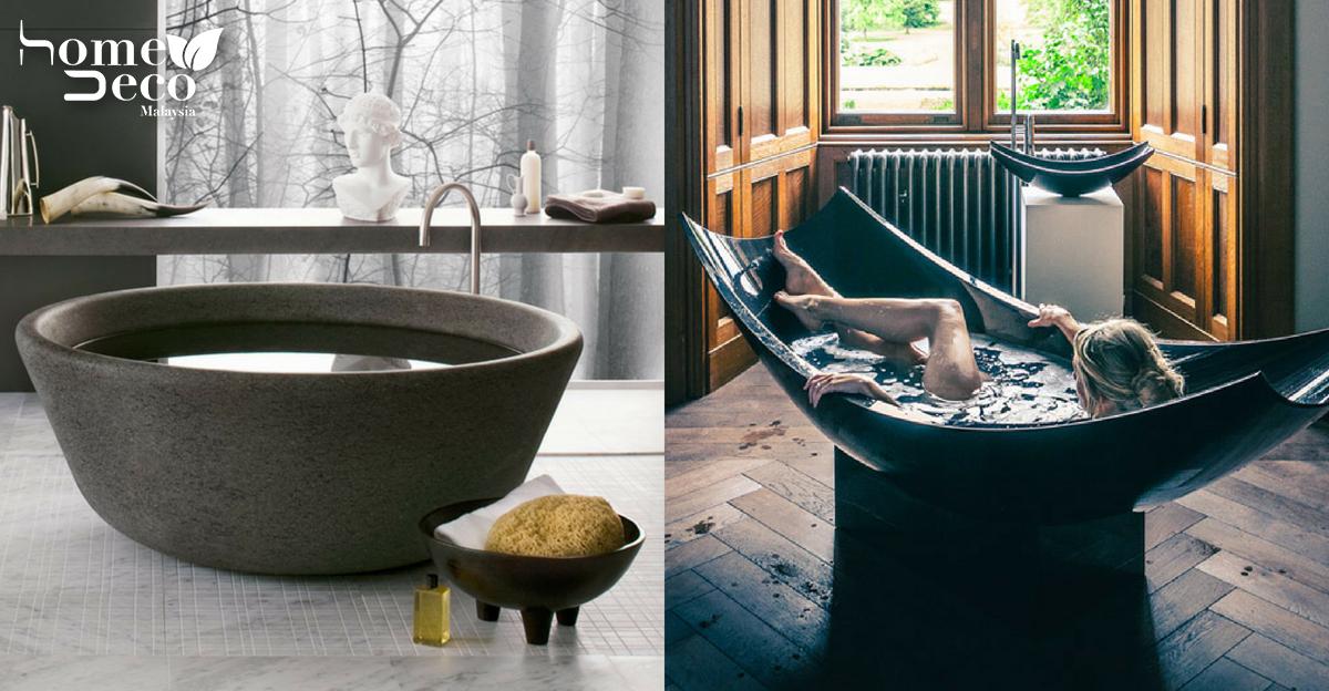 8 Creative Bathtub Designs To Bring Art Into The Bathroom