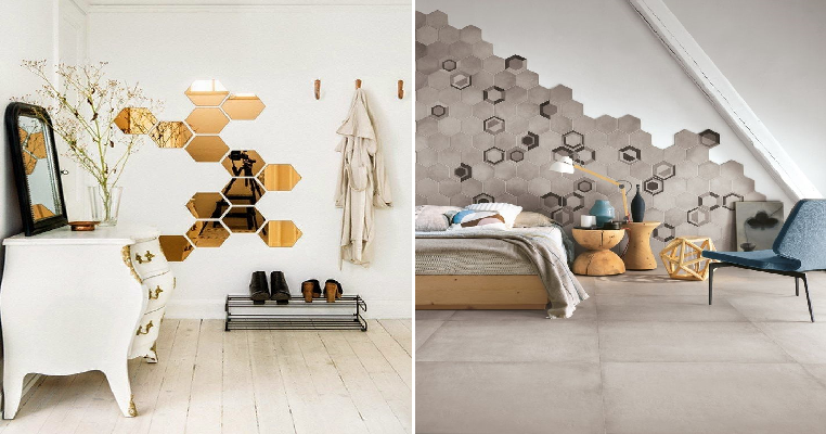 9 Gorgeous Hexagon Tiles You Can Use