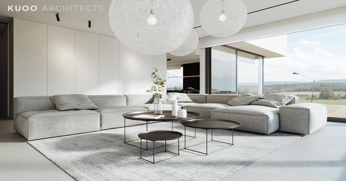 Amazing White Colour Theme House Design That Will Blow Your Mind